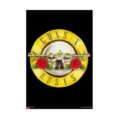 Guns N Roses - Poster Logo (in 59,4 cm x 84,1 cm)