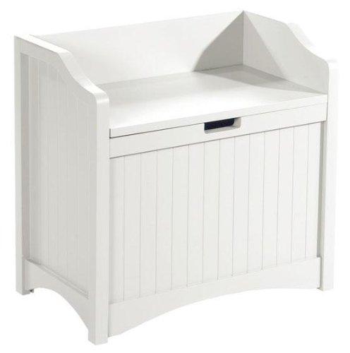 Madison 24″w Lift top Storage Bench, 24″W, WHITE ...