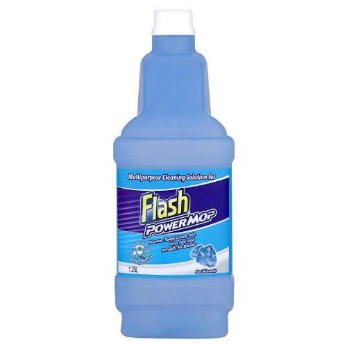 Flash Powermop Sea Minerals Liquid Refills 1.25 Litre (Pack of 3)