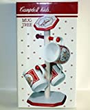 Campbell Soup 1991 Wood Mug Tree