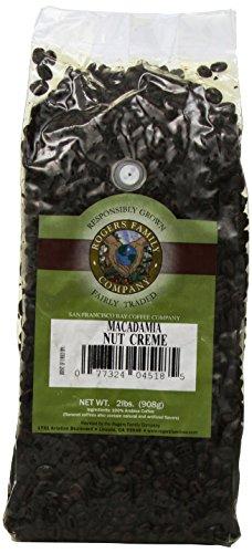Rogers Family Company Whole Bean Coffee, Macadamia Nut Creme, 32 Ounce