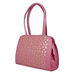 Glory Fashion Women's Stylish Handbag Pink BB-001-B00161
