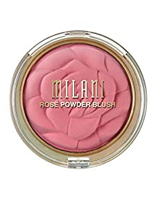 Milani Rose Powder Blush, Tea Rose, 0.60 Ounce
