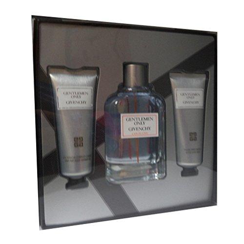 Givenchy-Gentlemen only eau de toilette 100 ml, gel douche corps et cheveux 75 ml baume apres rasage 75 ml uomo