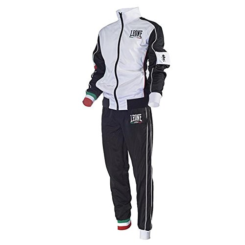 Tuta Completa (Giacca e Pantaloni) Leone AB796 (BIANCO, S)