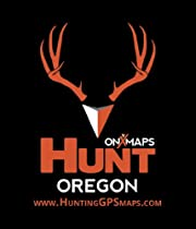 HUNT Oregon Public/Private Land Ownership Topo Maps for Garmin GPS by onXmaps