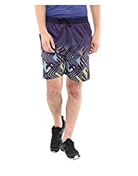 Yepme Men's Blue Polyester Active Shorts - YPMSORT0217_XL