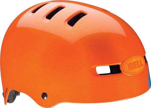 Bell Faction Helmet Orange Sugar Skull, M