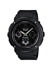 Casio Women's BGA151-1BCR Baby-G Shock Resistant Multi-Function Watch