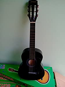 Taxton Stylezit Acoustic Guitar for Kids  Black  available at Amazon for Rs.2750