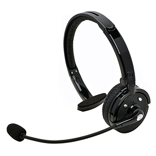 Bluetooth headsets bluetooth headset yamay wireless with microphone over the head noise - Phone headsets for office ...