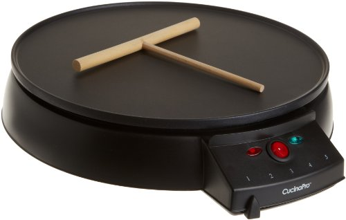 Sale alerts for CucinaPro CucinaPro 1448 12-Inch Griddle and Crepe Maker - Covvet