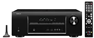 Denon AVR-1913 7.1 Channel 3D Pass Through and Networking Home Theater Receiver with AirPlay and Powered Zone-2 Capability