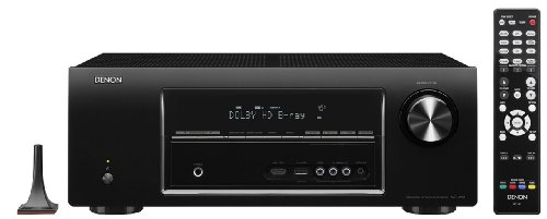 Great Features Of Denon AVR-1913 7.1 Channel 3D Pass Through and Networking Home Theater Receiver wi...