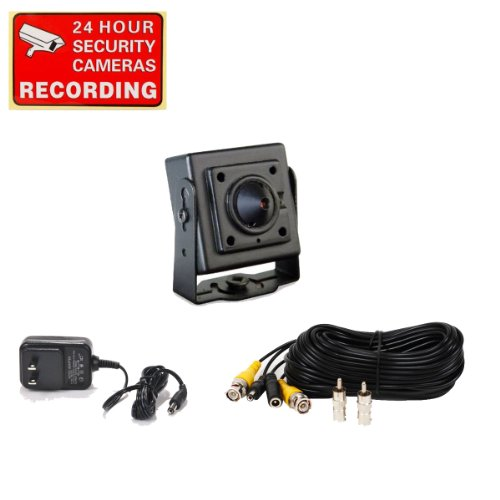 SVAT CCDCO Mini Indoor CCD Pinhole Camera Kit...