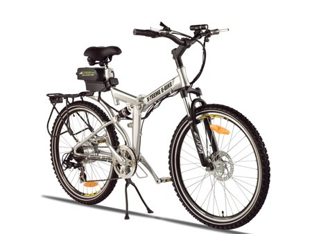 X-Treme Scooters Folding Electric Mountain E-Bike, Aluminum