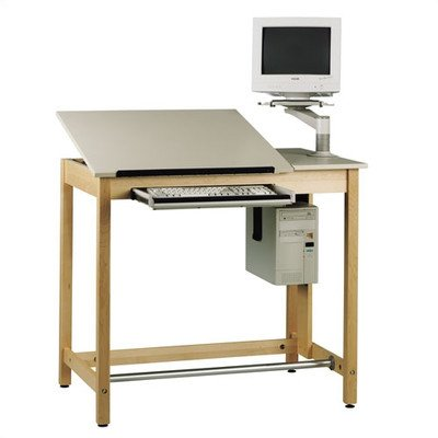 Folding Drafting Table front-1009049