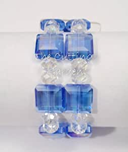 Amazon.com: Corsage Bracelet - Block Party Bracelet - Sapphire (Blue)