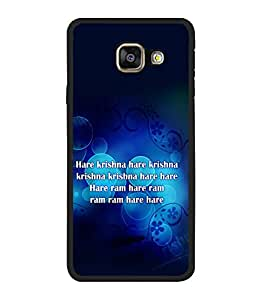 printtech Hare Krishna Hare Rama Back Case Cover for Samsung Galaxy A3 (2016) :: Samsung Galaxy A3 (2016) Duos with dual-SIM card slots