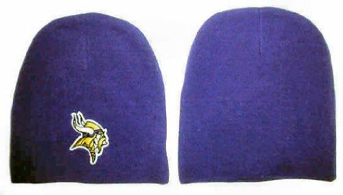 Men's Minnesota Vikings Purple Cuffless Beanie Stocking Hat/Cap (Vikings Stocking Cap compare prices)