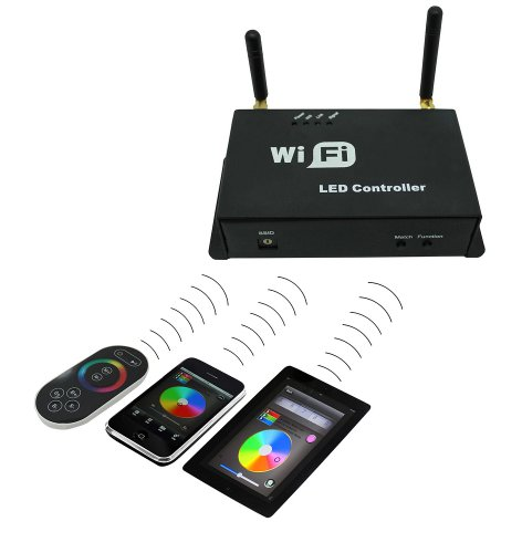 Victsing Wireless Rgb Wifi Led Strip Controller For Ios Iphone Android Mobile Phone Smartphone With Remote Control