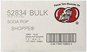 Jelly Belly Soda Pop Shoppe Jelly Beans, Assorted, 10-Pound Box