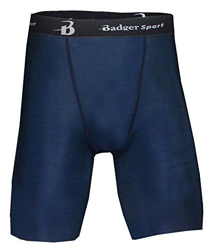 Badger Men's 8 Inseam B-Fit Blended Compression Short - Navy - S доска для объявлений dz 1 2 j8b [6 ] jndx 8 s b
