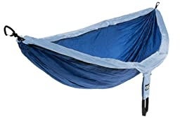 Eagles Nest Outfitters - DoubleNest Hammock, Powder/Royal