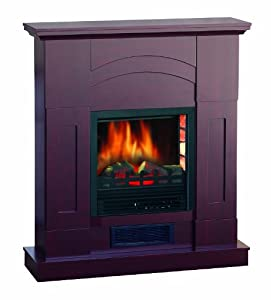 Quality Craft Mm995p 36ach Electric Fireplace Heater With 750 1500 Watt Adjustable Temperature