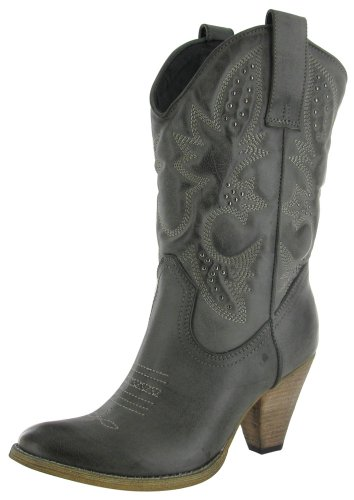 Very Volatile Denver Women's Western Cowboy Boots Faux Leather Size 8