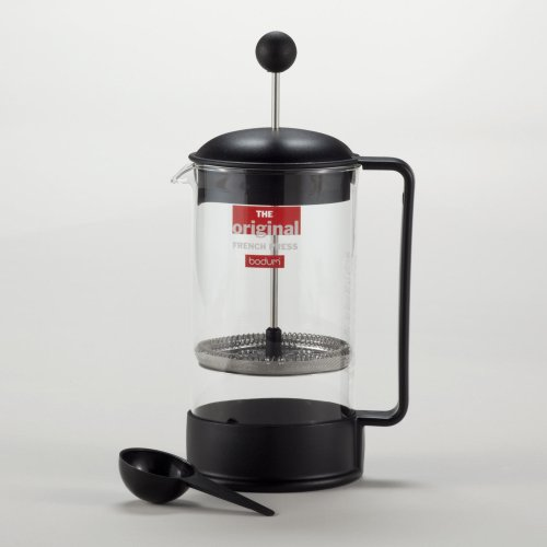 Black Bodum Brazil French Press Coffee Maker - World Market