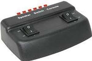 Av:link 128.559 50W 2 Way Loudspeaker Selector - Black