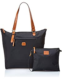 Bric's Leather Black Shopping Bag