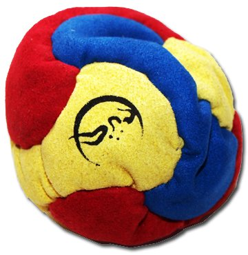 flames-n-games-6-panel-footbag-hacky-sack-blue-yellow-red