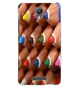 ColourCraft Colour Pencil Design Back Case Cover for XIAOMI REDMI NOTE 2 PRIME