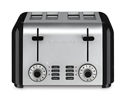 Cuisinart Compact Stainless 4-Slice Toaster, Brushed Stainless by Cuisinart