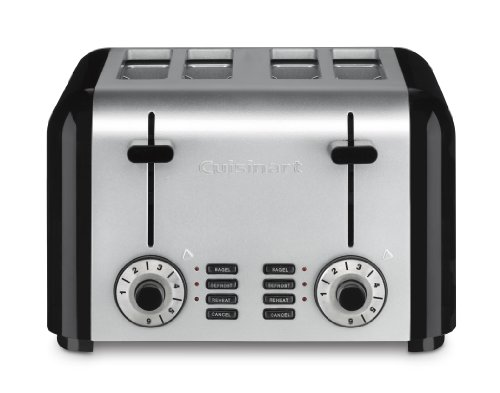 Cuisinart CPT-340 Compact Stainless 4-Slice Toaster, Brushed Stainless (Cuisinart Toaster Oven Compact compare prices)