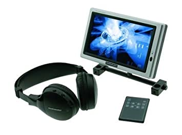 "Audiobahn AVM170TP, 17,7cm (7"") Aktiv Matrix TFT-LCD Monitor mit Fernbedienung, 16:9 Wide Screen"