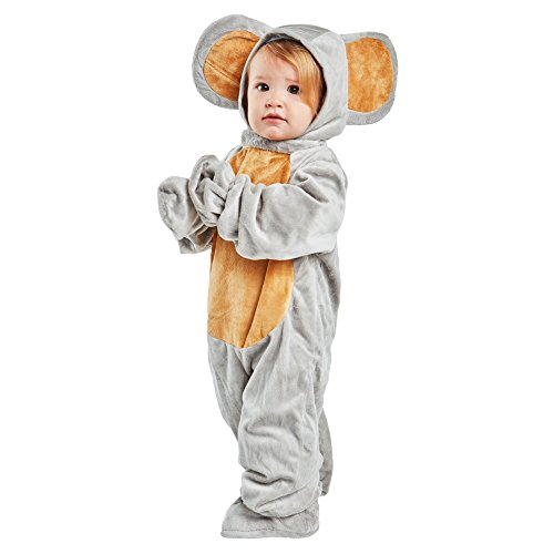 Toddler Grey Mouse Costume Size 2-4T