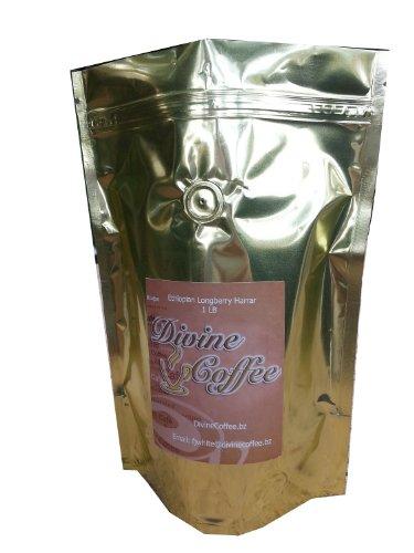Ethiopian Harrar Fresh Roasted Gourmet Coffee Beans 2 Lbs.