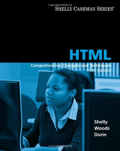 HTML: Comprehensive Concepts and Techniques (Shelly Cashman)