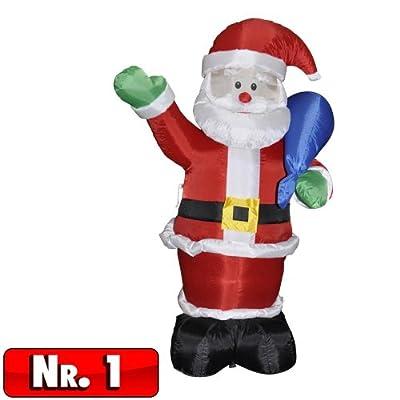 Aufblasbarer Weihnachtsmann - 2 Modelle von Toci in [ProductCategories]