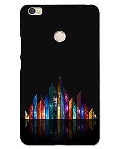 MobileGabbar Xiaomi Mi Max Back Cover Printed Hard Case