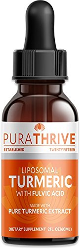 PuraTHRIVE-Liquid-Turmeric-Extract-Premium-Supplement-made-with-Organic-Turmeric-GMO-Free-Made-in-USA-Best-Absorption-and-Potency-with-Liposomal-Turmeric