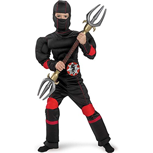 Speed Ninja Muscle Kids Costume
