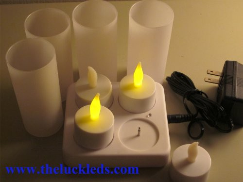 Rechargeable Tea Lights