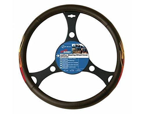 Sumex 2505031 Carplus - Copri Volante Carbonio Fiamme