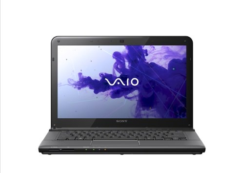 Sony VAIO E14 Series SVE14126CXB 14-Inch Laptop (Black)