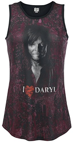 The-Walking-Dead-I-Love-Daryl-Dixon-Top-Mujer-multicolor