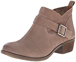 Lucky Women\'s Lk-Boomer Ankle Bootie, Brindle, 7 M US